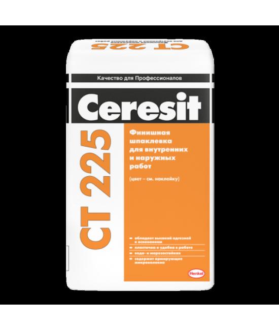 Финишная шпаклевка для наружных и внутренних работ Ceresit CT 225