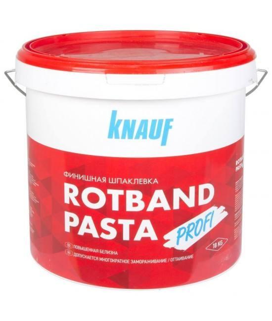 финишная Шпаклёвка Knauf Rotband Pasta