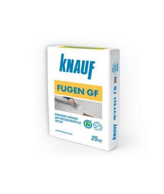 Шпаклевка гипсовая Knauf Fugen GF, 25 кг