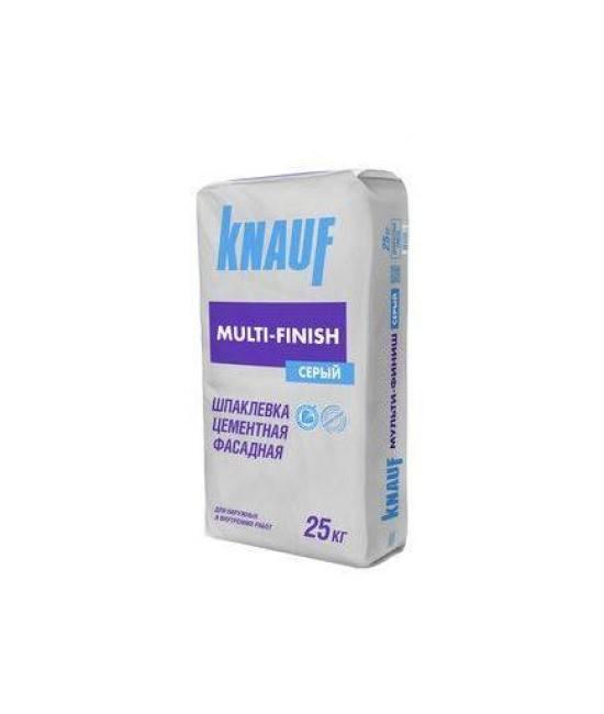 Шпаклёвка Knauf Multi-Finish Серый