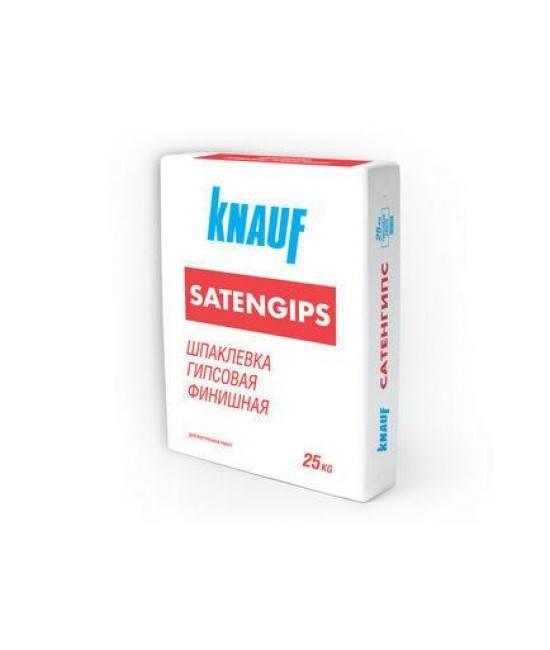 Шпаклёвка Knauf Satengips