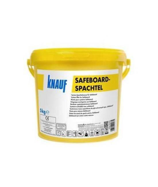 Сухая гипсовая смесь для шпаклевания стыков рентгенозащитных листов Knauf Safeboard-Spachtel