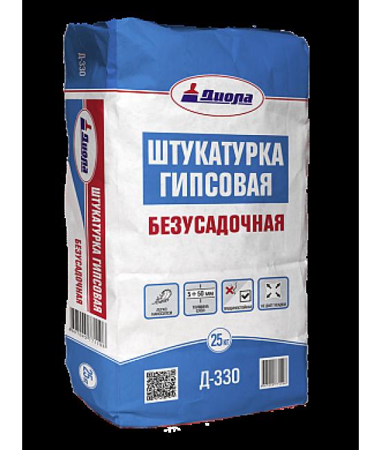 """Штукатурка гипсовая """"Диола-330"""", 25 кг"""