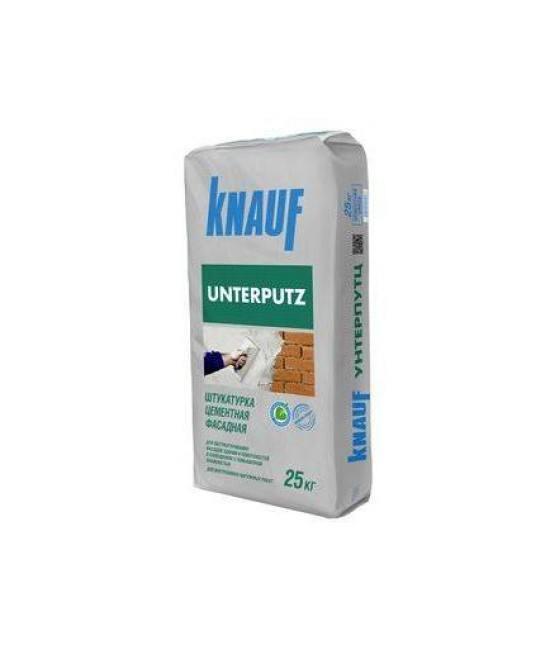 Штукатурка цементная фасадная Knauf Unterputz