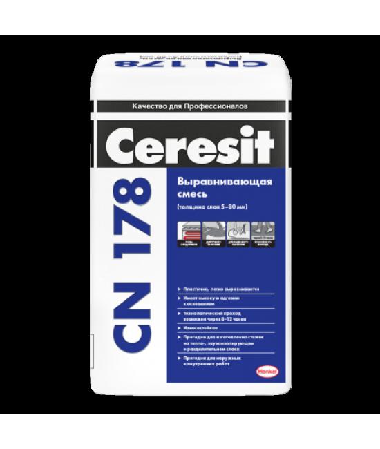 Смесь для выравнивания Ceresit CN 178