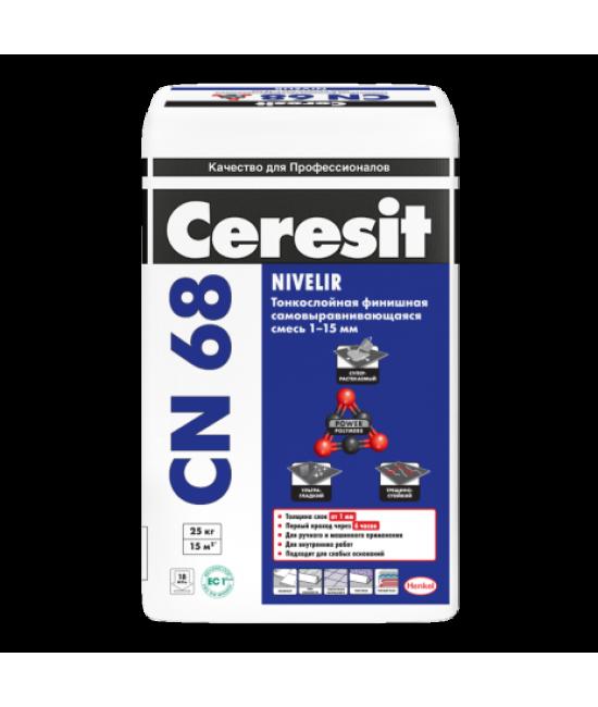 Смесь для выравнивания Ceresit CN 68