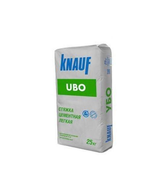 Стяжка цементная Knauf Ubo