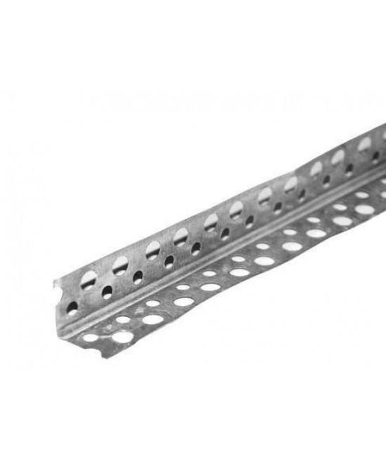 Профиль углозащитный алюминиевый 20*20мм (3м)